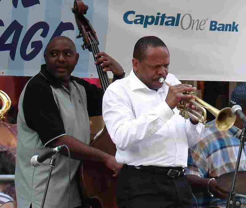 Trumpeter Leroy Jones performs at New Orleans' French Quarter Festival in 2008.
