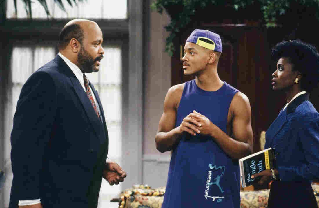The Fresh Prince of Bel-Air in the early days — with the original Aunt Viv, too!