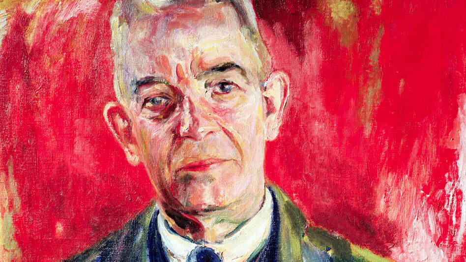 A 1931 portrait of Danish composer Carl Nielsen by Sigurd Swane. Nielsen's symphonies are still undervalued.