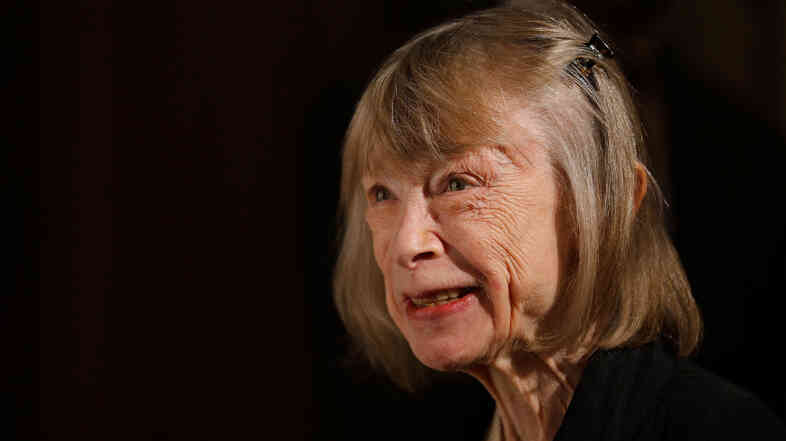 Joan Didion on Sept. 24, 2012, in New York City.