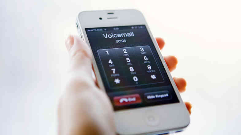 The phone company Vonage reported a drop in voice mail retrievals over the past year. Many of those ignoring voice mails are millennials.