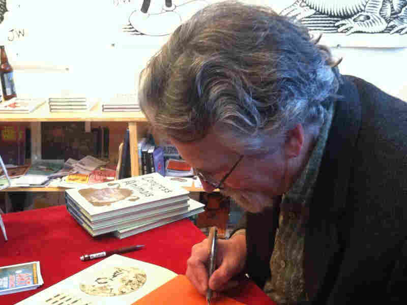 Cartoonist Jim Woodring's other titles include Fran, Congress of the Animals and The Frank Book.