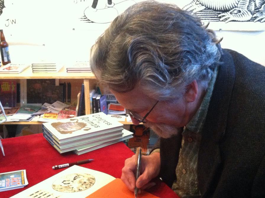 Cartoonist Looks Back On Career Built On Unnerving Visions