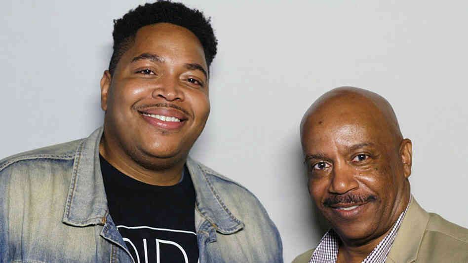 Darius Clark Monroe, 33, and David Ned, 63, met while Monroe was working on a documentary about a robbery he committed in his teens. The film, Evolution of a Criminal, will air on PBS in January 2015.