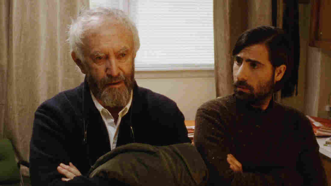 Jonathan Pryce (left) and Jason Schwartzman (right) star as both jerks and writers in Listen Up Philip.