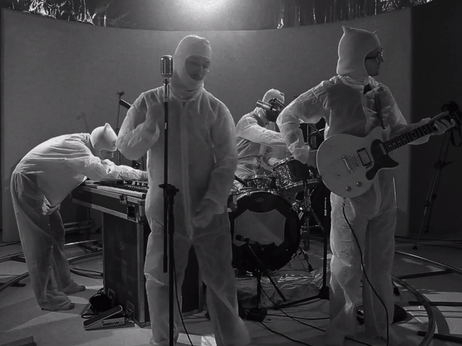 See one of Nashville's most dynamic young rock bands tear it up, with a crew wearing hazmat suits.