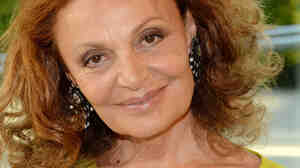 Designer Diane Von Furstenberg has written a memoir called The Woman I Wanted to Be.