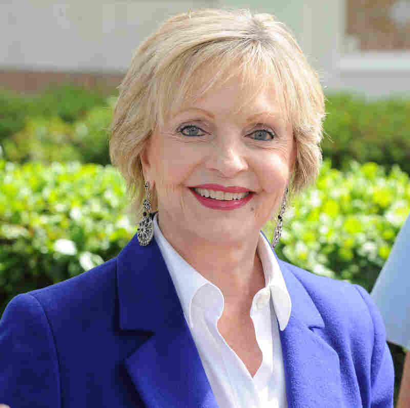 Florence Henderson attends the LA Times Festival of Books in April 2012.