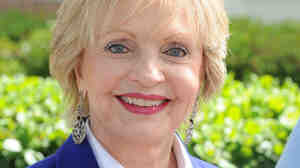 Florence Henderson attends the LA Times Festival of Books in April 201