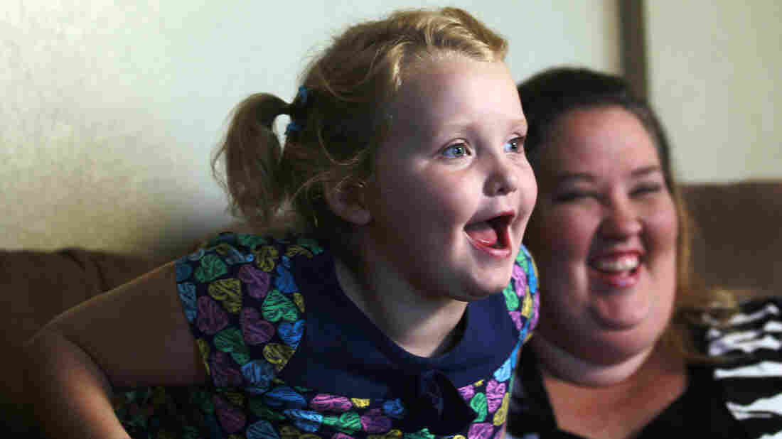 """June """"Mama June"""" Shannon jokes with daughter Alana """"Honey Boo Boo"""" Thompson, star of TLC's unscripted series Here Comes Honey Boo Boo."""