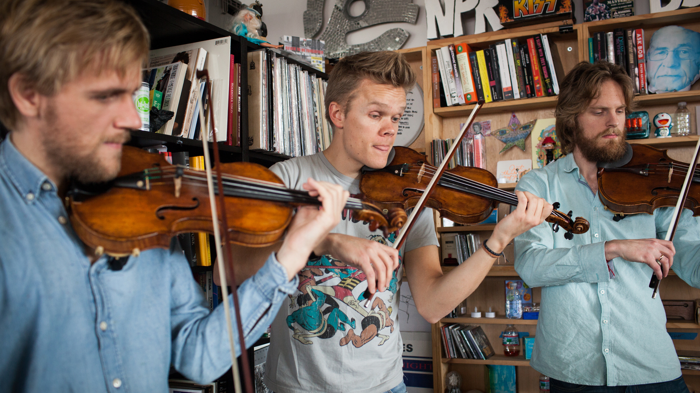 Danish String Quartet: Tiny Desk Concert : NPR