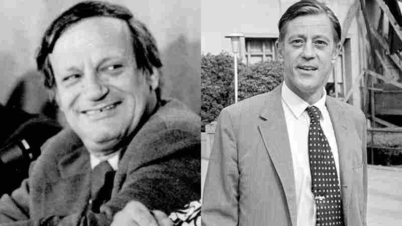 Frank Mankiewicz and Ben Bradlee