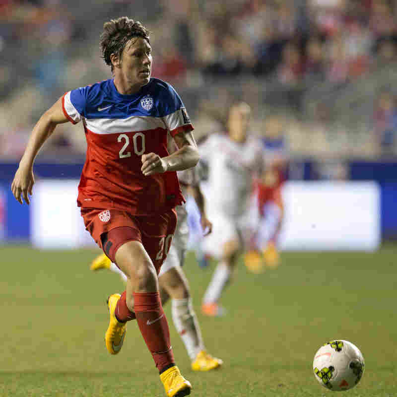 The U.S. Women's National Soccer Team left its CONCACAF tournament competition in the dust. The team didn't give up a single goal all tournament. Abby Wambach, shown controlling the ball in the second half of the U.S. 6-0 win over Costa Rica in the finals, scored seven of the U.S. team's 21 goals.