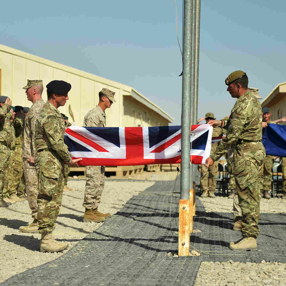 U.S. Marines Leave Afghanistan, Along With British Force