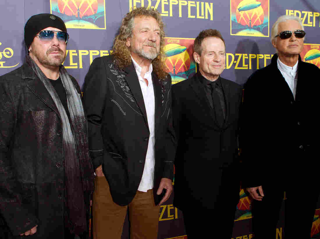 This week, a judge in Pennsylvania moved forward with a lawsuit against the members of Led Zeppelin and their music publishers. The band is accused of plagiarism.