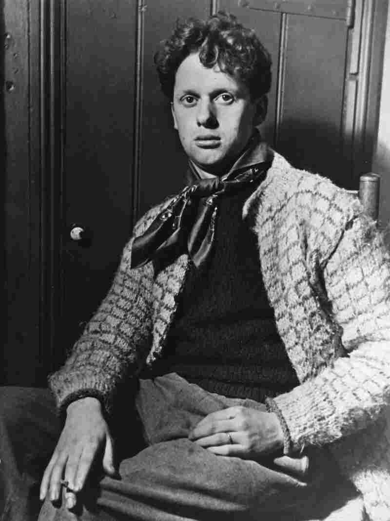 Dylan Thomas, seen here in 1944, died less than a decade later while on tour in New York City.