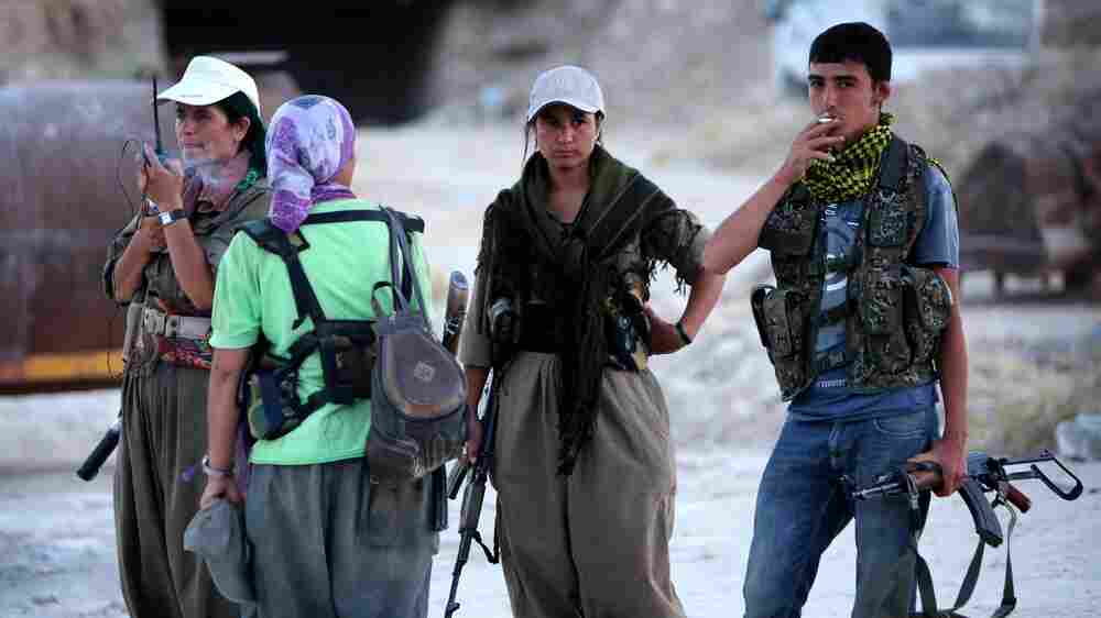 Facing The Islamic State Threat, Kurdish Fighters Unite