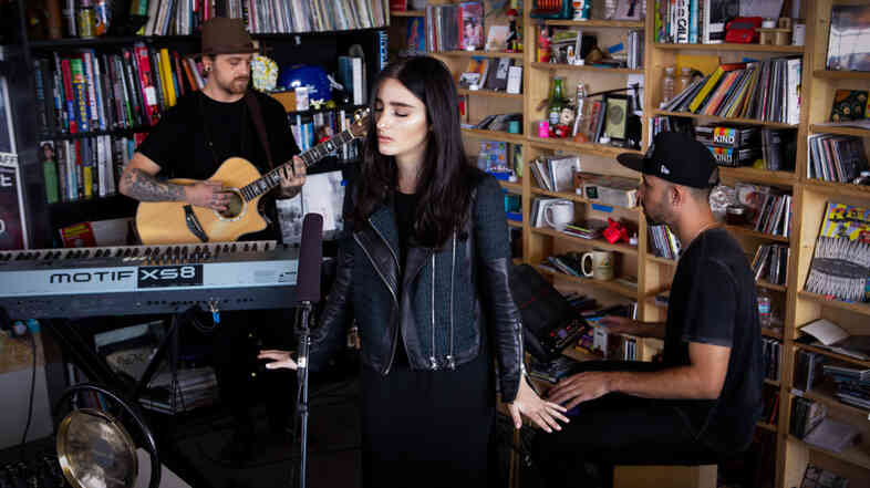 A Tiny Desk Concert with Banks, recorded on Sept. 26, 2014.