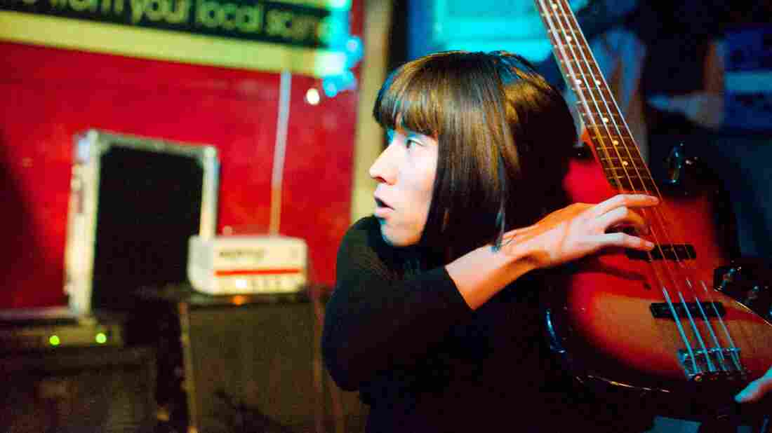 Bo Ningen performing in New York.