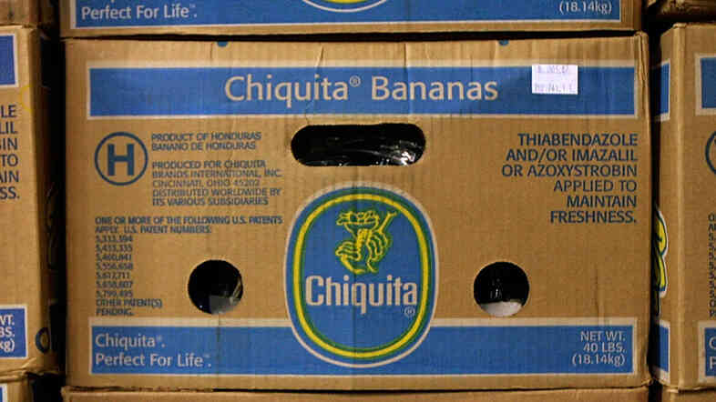Chiquita, whose bananas are found in markets around the U.S., has agreed to sell itself to a coalition of two Brazilian companies.