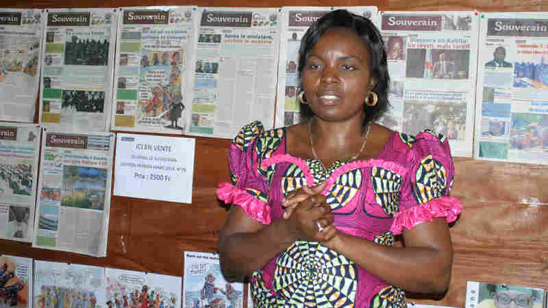 """Congolese editor Solange Lusiku Nsimire says journalism is a powerful way of building and preserving her troubled country's """"collective memory."""""""