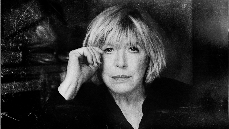 Marianne Faithfull's new album, Give My Love To London, comes out Nov. 11. (Courtesy of the artist)
