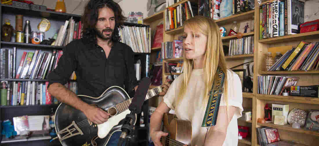 Luluc perform at NPR Music's Tiny Desk.