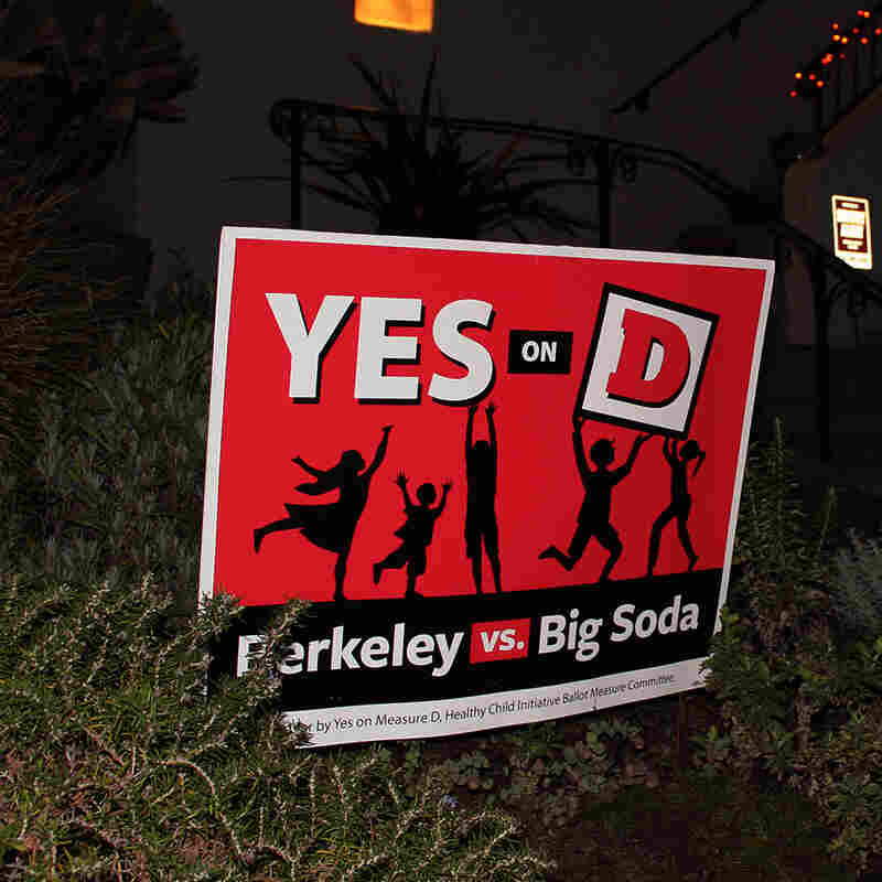 Berkeley's soda tax supporters are deploying yard signs and people going door to door, but they have deep-pocketed opposition from the American Beverage Association, the soda industry's lobbying group.
