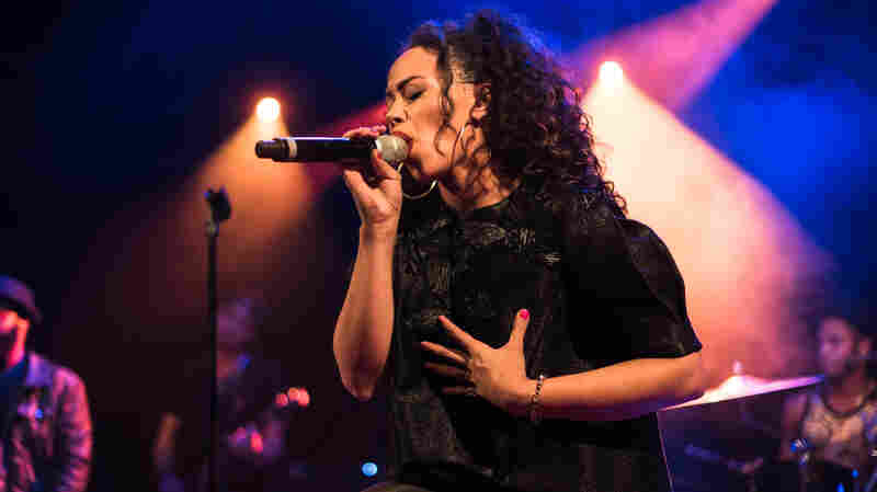 Elle Varner performs at NPR Music's CMJ show.