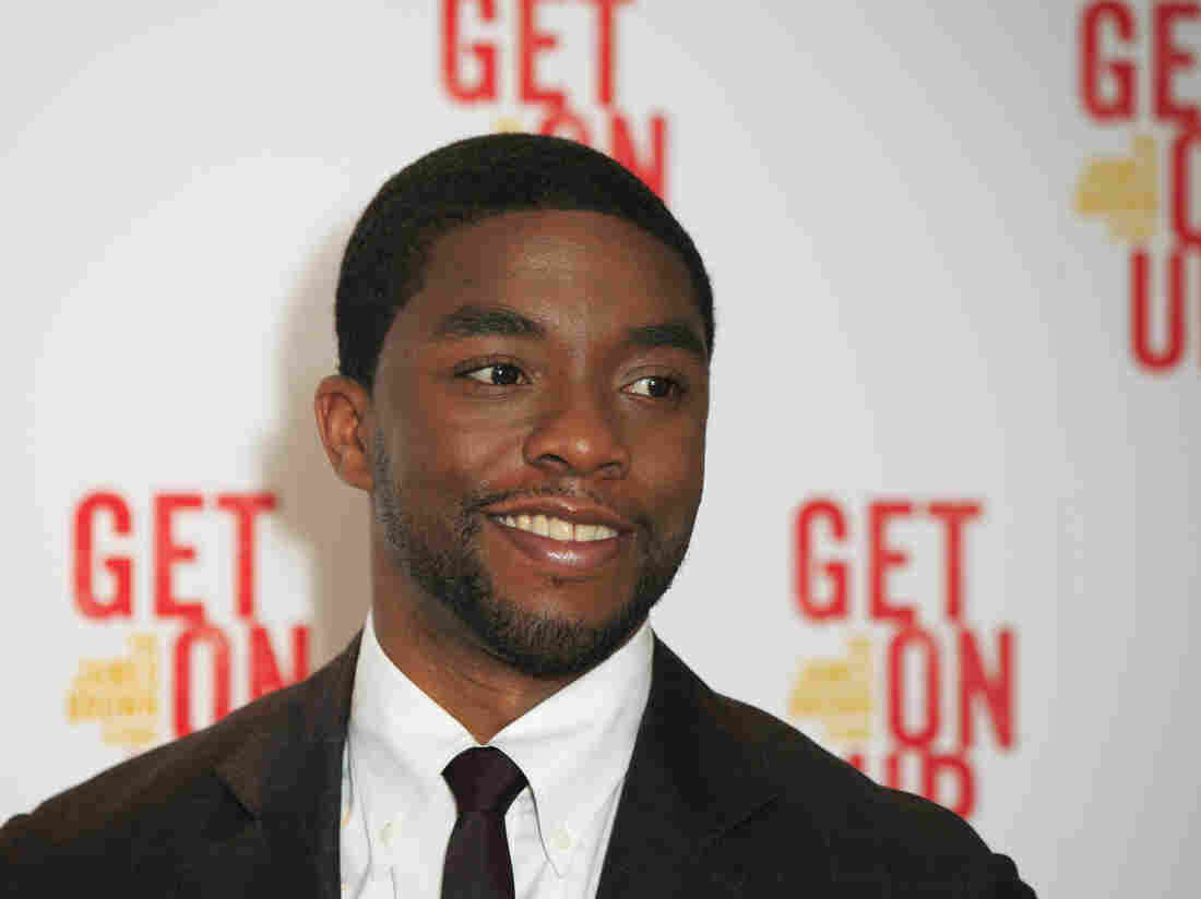 Actor Chadwick Boseman attends the Sept. 14 world premiere of Get On Up at the Ham Yard Hotel in central London. Boseman will portray Black Panther in the upcoming Marvel Studios film.