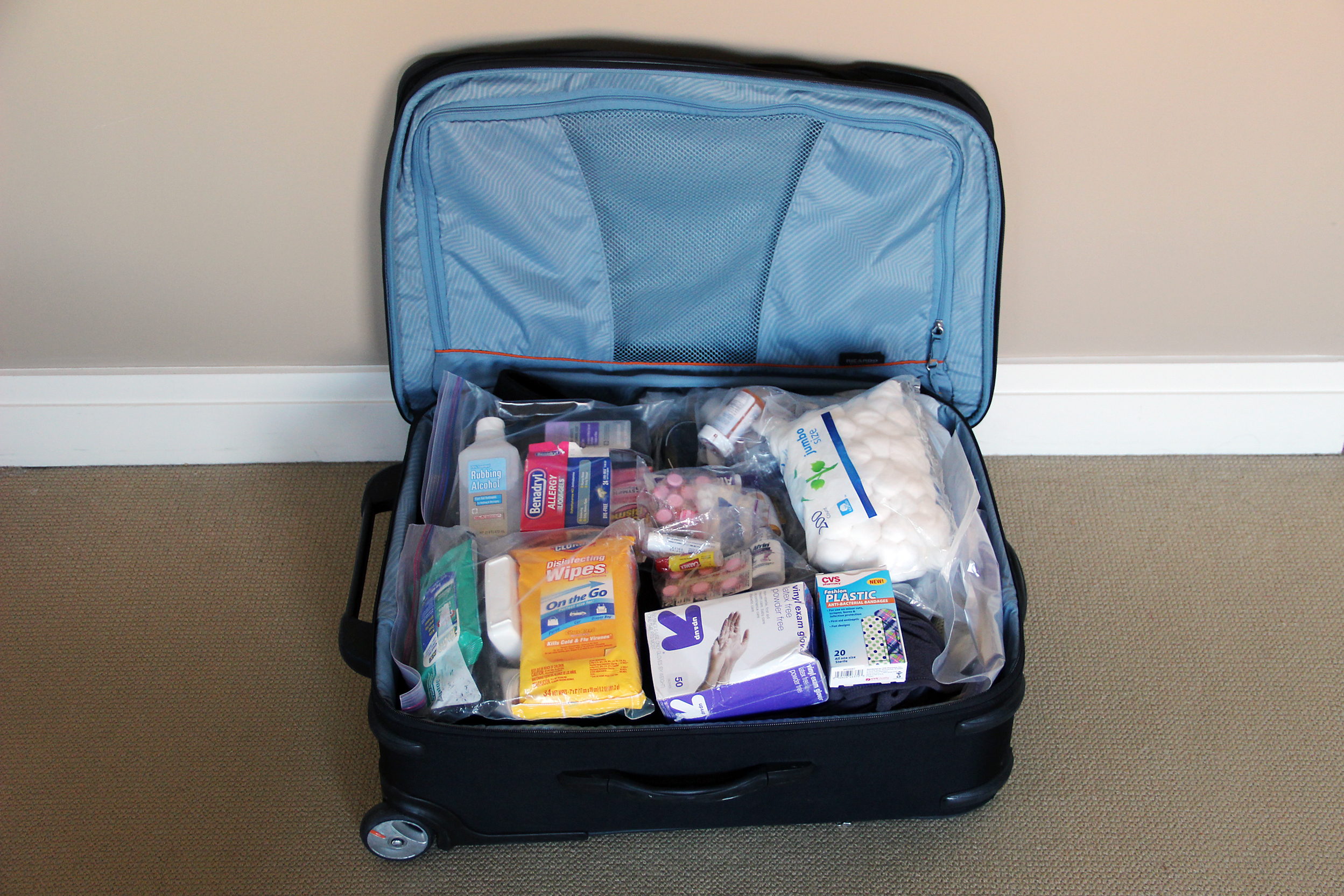 The Misadventures Of My Anti-Ebola Suitcase