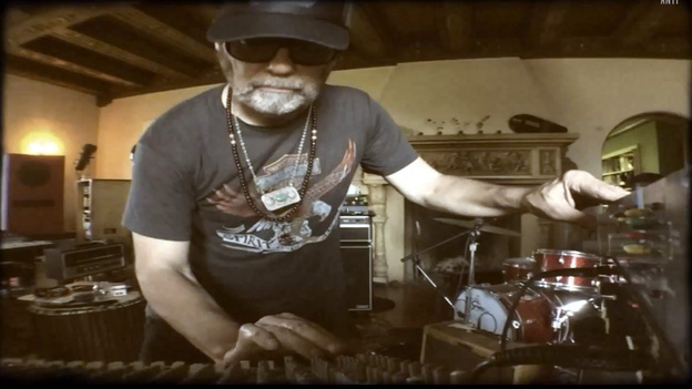 """Daniel Lanois, in a scene from his new video for the song """"Opera."""" (Courtesy of the artist)"""