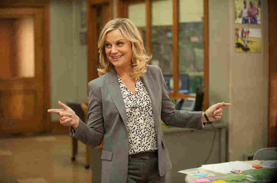 """Amy Poehler plays Leslie Knope on Parks and Recreation, which will air its final season next year. Poehler says, """"It's a privilege in television to be able to have a proper goodbye."""""""