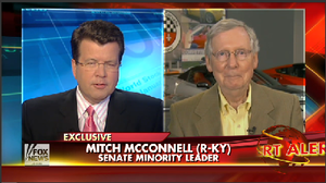 Senate Republican leader Mitch McConnell tells Fox News' Neil Cavuto that a repeal of the Affordable Care Act will still not be possible under a Republican Senate.