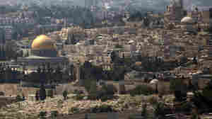 The Dome of the Rock Mosque in the Al-Aqsa Mosque compound, known by the Jews as the Temple Mount, is seen in Jerusalem's Old City. Israel closed the site to all visitors on Thursday following an assassination attempt on a right-wing Jewish activist.