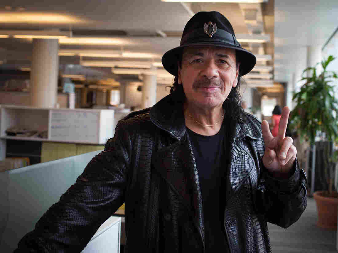 Carlos Santana visits NPR for an interview about his new memoir The Universal Tone: Bringing My Story to Light.