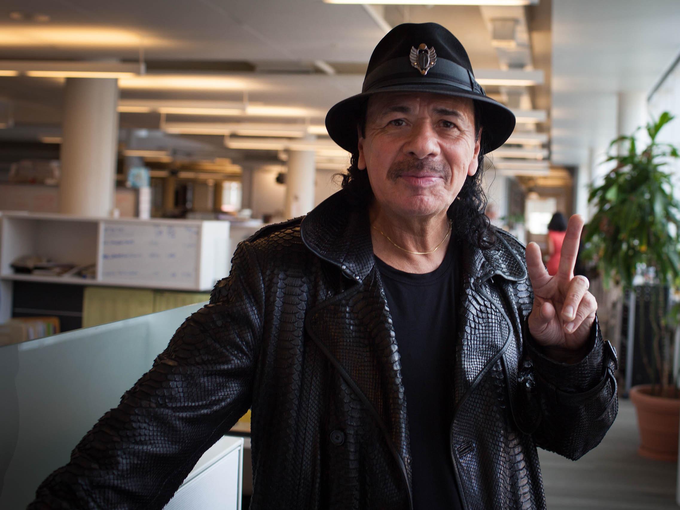 Carlos Santa... Carlos Santana
