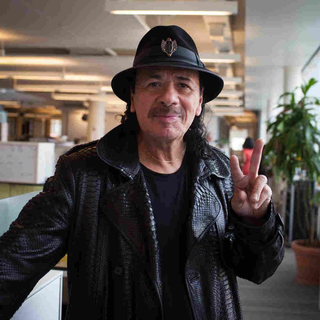 Carlos Santana: 'I Am A Reflection Of Your Light'