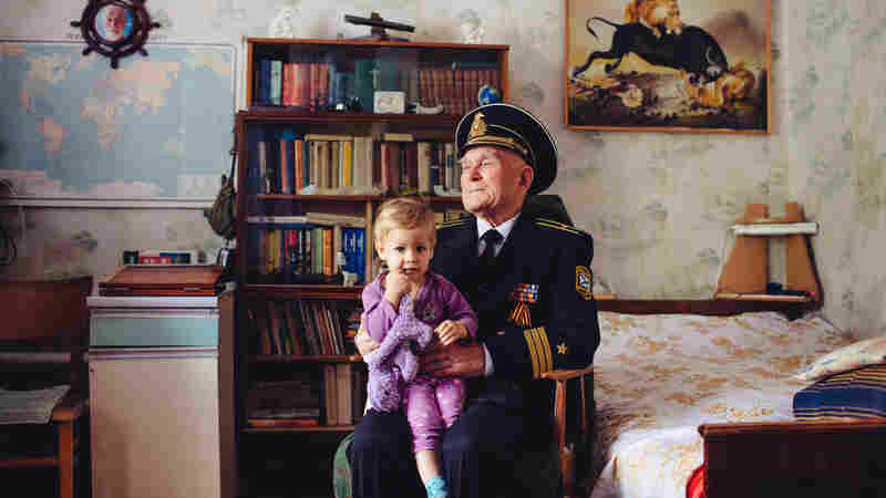 Valentin Danilov, 83, is a former executive officer on a Soviet sub who proudly wears his old Soviet military uniform. Crimeans like Danilov have, without changing their residence, lived in three different countries in the past 25 years — the Soviet Union, then Ukraine and now Russia.