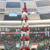 With Human Pyramids, Catalans Reach For Independence  - human towers spain1 sq 8192c8ac0e12bc9924d9d802d24fea1edae85fc0 s100 - Catalonia To Launch Space Agency And Satellites. Spain's Agency Has No Comment : NPR