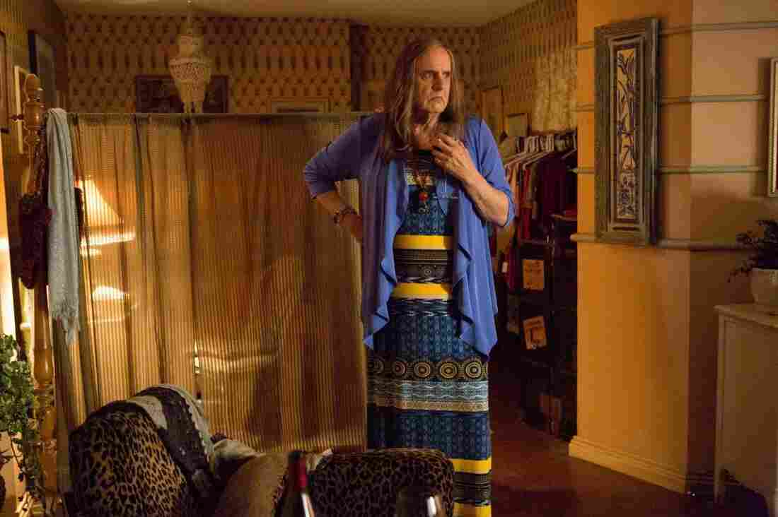"""Jeffrey Tambor plays Maura in the new Amazon series Transparent. Jill Soloway says she cast Tambor in the role because everyone knows Tambor as a """"dad figure."""""""