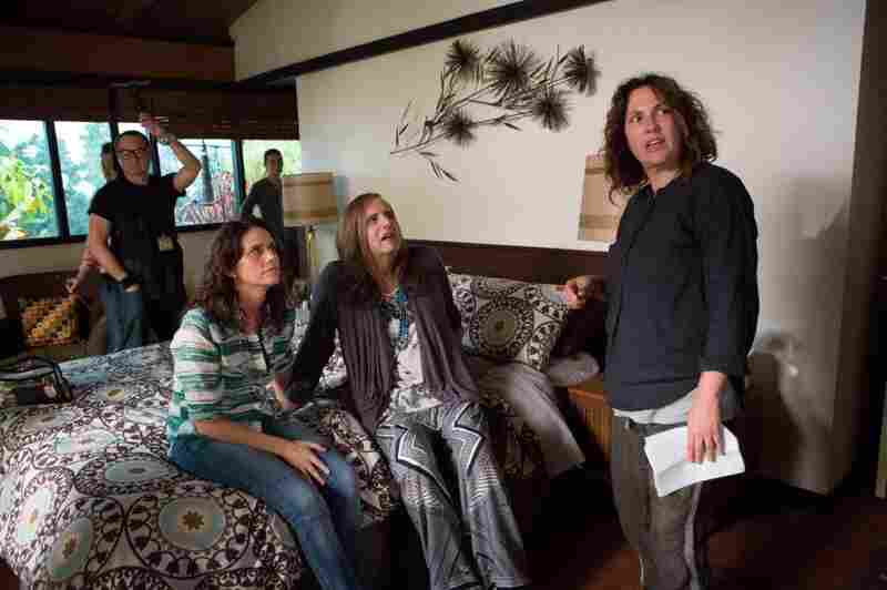 """Writer Jill Soloway (right) says she feels more creative when she's dressed """"more masculine"""" — meaning jeans and a T-shirt."""
