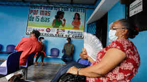 Domitilia, 57, is a diabetic patient in the Dominican Republic who contracted tuberculosis. She's now cured of TB after two years of treatment.