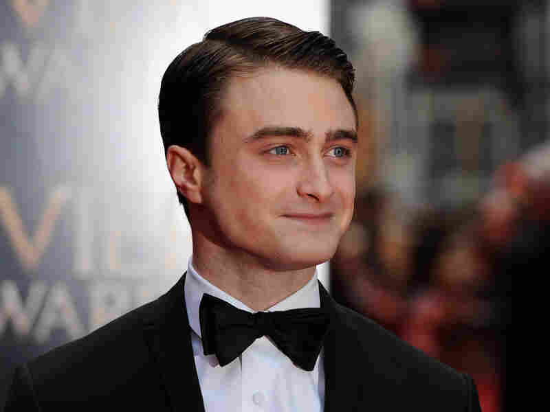 Daniel Radcliffe attends The Laurence Olivier Awards at the Royal Opera House in April 28, 2013 in London.
