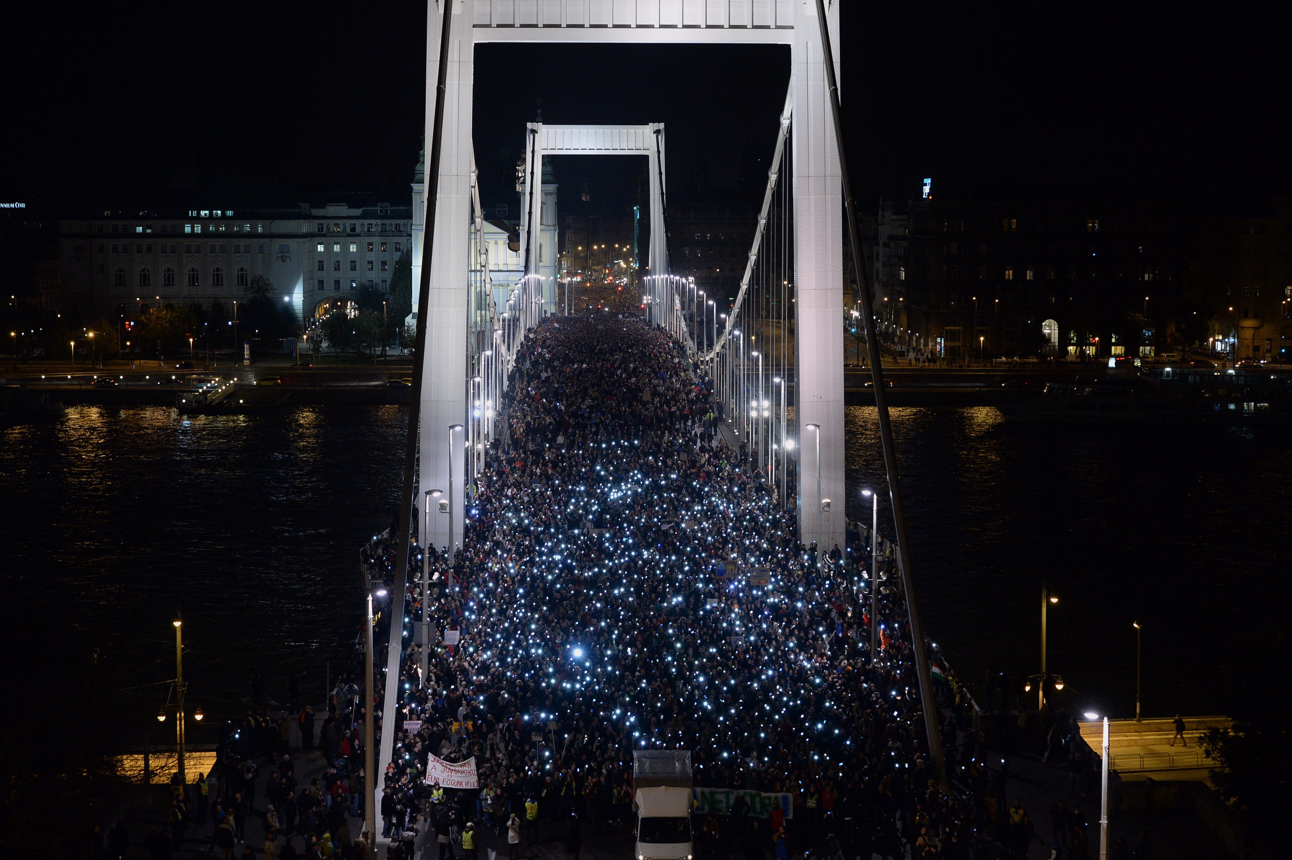 After Mass Protests, Hungary Gives Up On Internet Tax