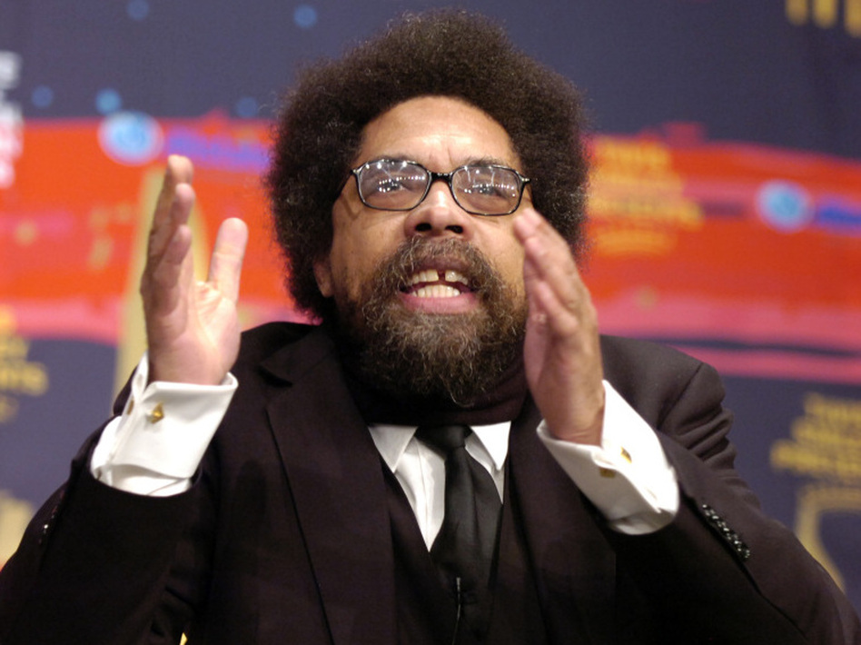 Professor and author Cornel West in 2008. (Richard Alan Hannon/Getty Images)