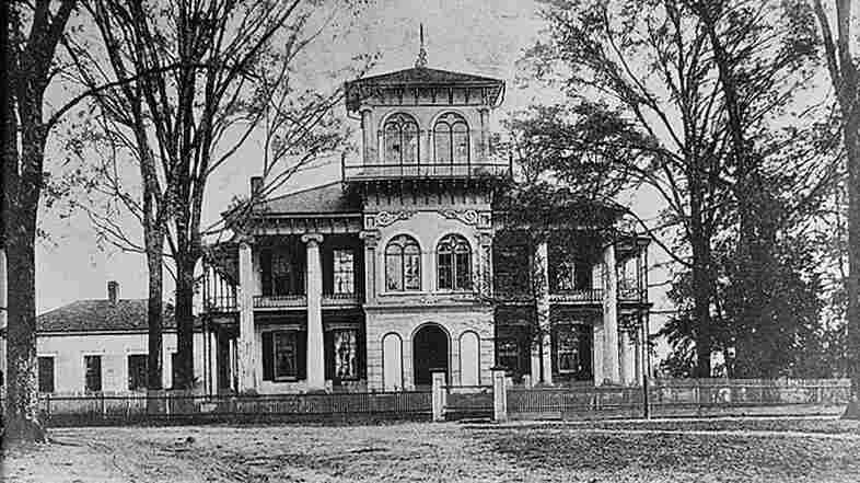 "The Drish House in Tuscaloosa, Ala., is the site of ""Death Lights in the Tower,"" the second ghost story in Kathryn Tucker Windham's 13 Alabama Ghosts and Jeffrey. You can hear Windham tell the story here."