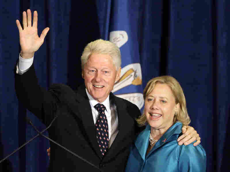 Sen. Mary Landrieu, whose family has deep political roots in Louisiana, and former President Bill Clinton, whose wife may have her eye on the White House in 2016.