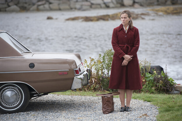 Frances McDormand stars in the HBO mini-series Olive Kitteridge, based on a Pulitzer Prize-winning collection of stories by Elizabeth Strout.