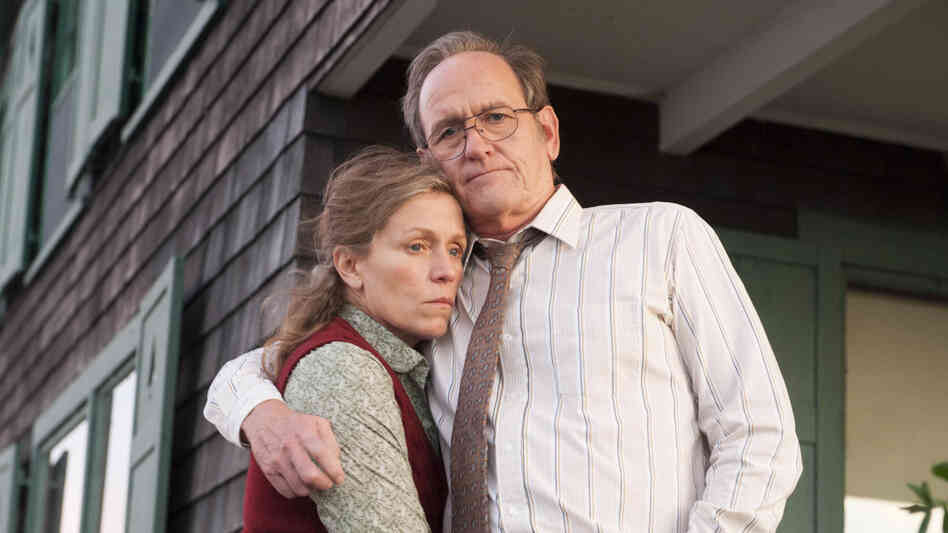Richard Jenkins (right) plays Henry, Olive's husband.